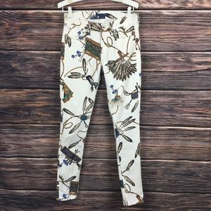 Blue Label Native America Southwest White Denim 28